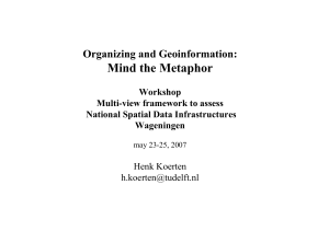 Geo-information and organizing theory - Henk