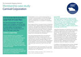 case study of carnival corporation Present performance of carnival corporation base on the case study given in class earlier can be described in terms of corporate finance performance (profitability), market share, ship capacity, advertising and marketing expenditures.