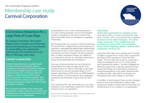 Membership case study: Carnival Corporation