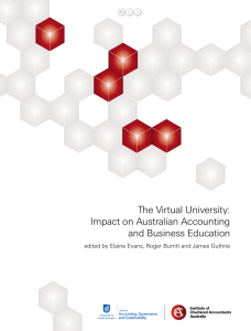 The Virtual University: Impact on Australian Accounting and