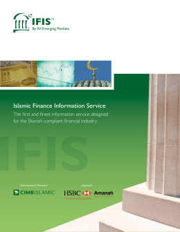 Islamic Finance Information Service
