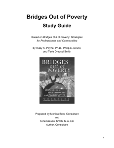 Study Guide: Bridges Out of Poverty