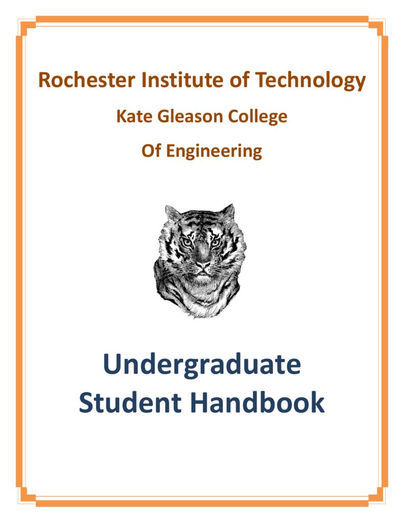 ferpa form rit  Undergraduate Student Handbook - Rochester Institute of ...