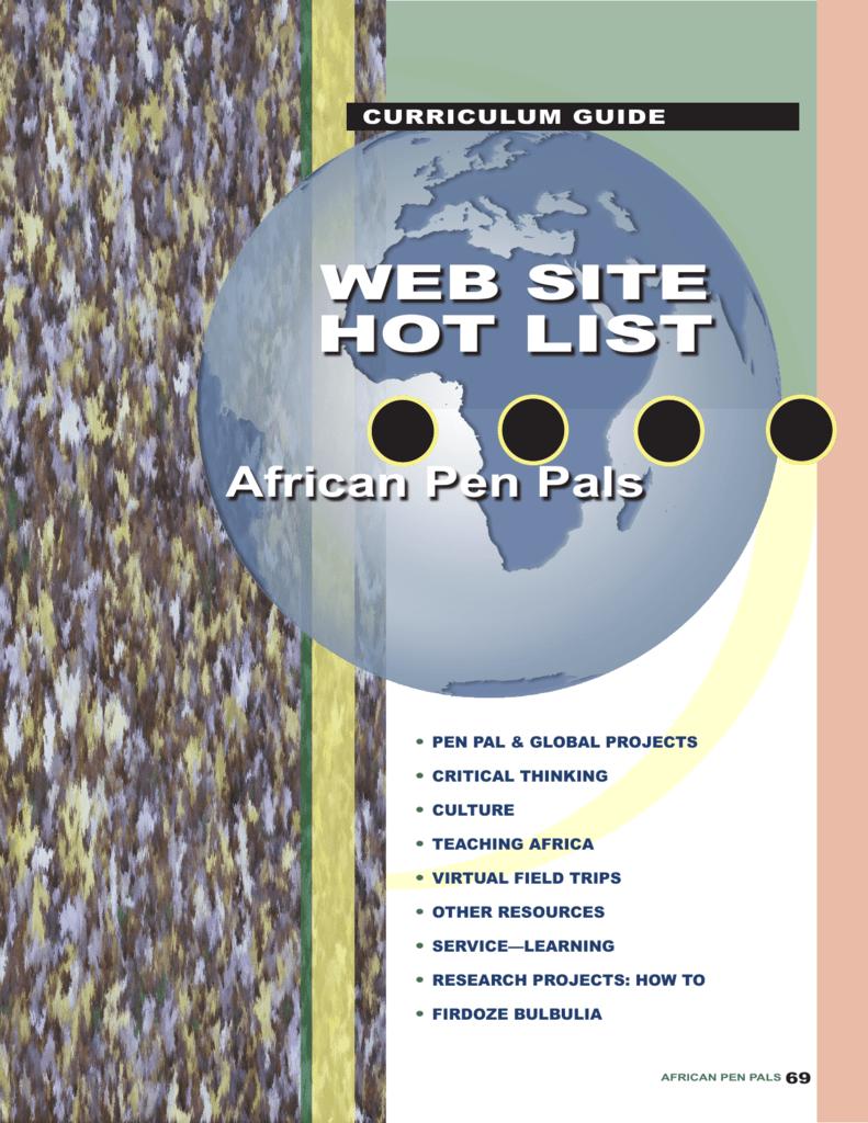 Web Site Hot List