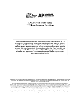 FRQs in one file 1999-2015 PDF