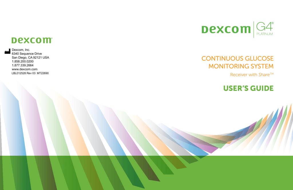 Dexcom G4 Platinum Users Guide
