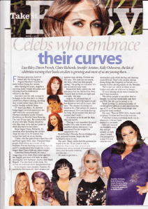 Sunday People article - Walking for Weight Loss
