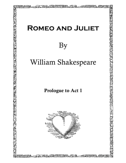 romeo and juliet vs macbeth act The tragedy of romeo and juliet print/save view : previous scene: play menu: next scene act iii, scene 5 capulet's orchard [enter romeo and juliet above, at the window] juliet wilt thou be gone it is not yet near day: it was the nightingale, and not the lark,  romeo is banish'd and all the world to nothing, 2330.