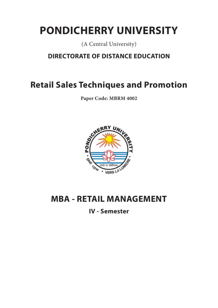 Retail sales techniques promotion fandeluxe Images