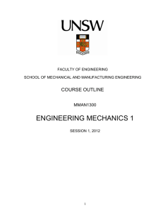 UNSW Course Outline
