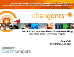 Social Consciousness Meets Social Networking