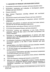 1[7. MINISTRY OF PRIMARY AND MASS EDUCATION] 1