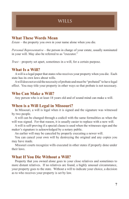 what these words mean what is a will who can make a will