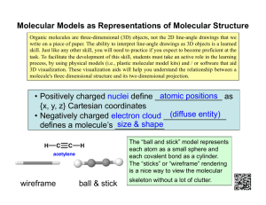 Molecular Models as Representations of Molecular Structure