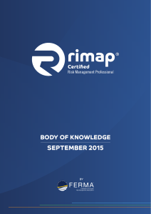 rimap Body of Knowledge