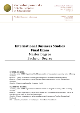final exam for international business Final examination xxxx international business busi2025 writing time: hours total  marks on paper: 60 marks weighting of exam: 30% permitted materials:.