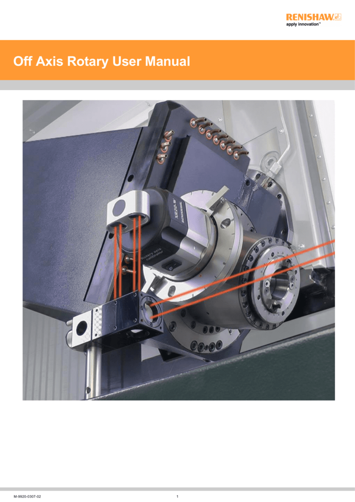 Off Axis Rotary Software - Renishaw resource centre