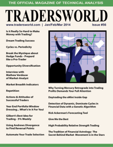 the official magazine of technical analysis