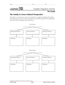 Graphic Organizer Activity
