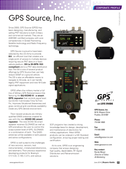 GPS Source, Inc.