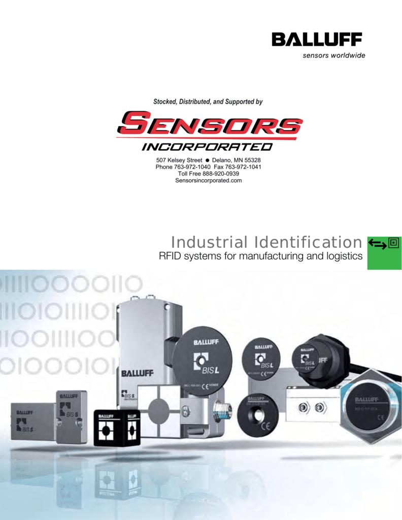 Balluff Rfid Catalog Sensors Incorporated Wiring Diagram