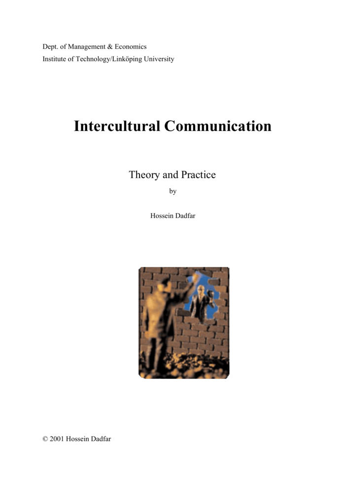 Intercultural Communication - IEI