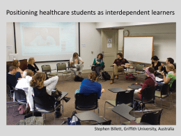 Positioning higher education students as interdependent learners