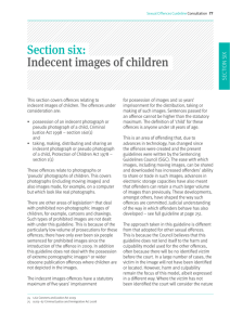 Indecent images of children