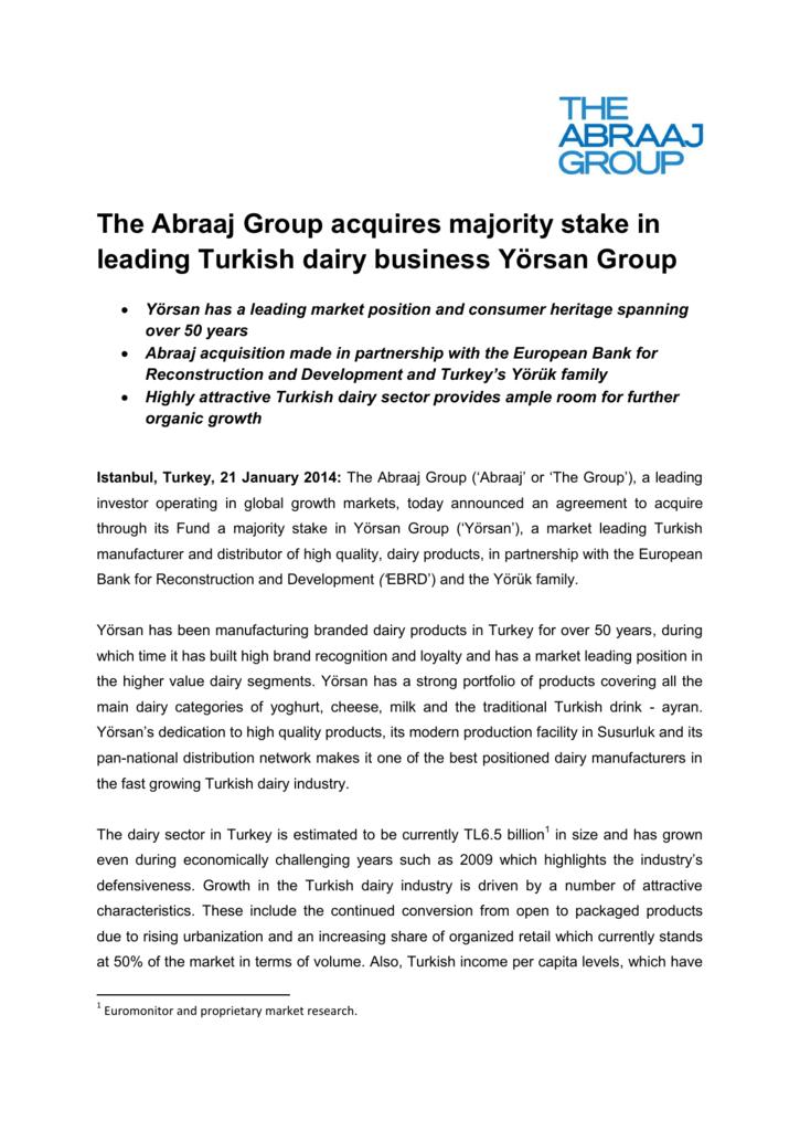 pdf - The Abraaj Group