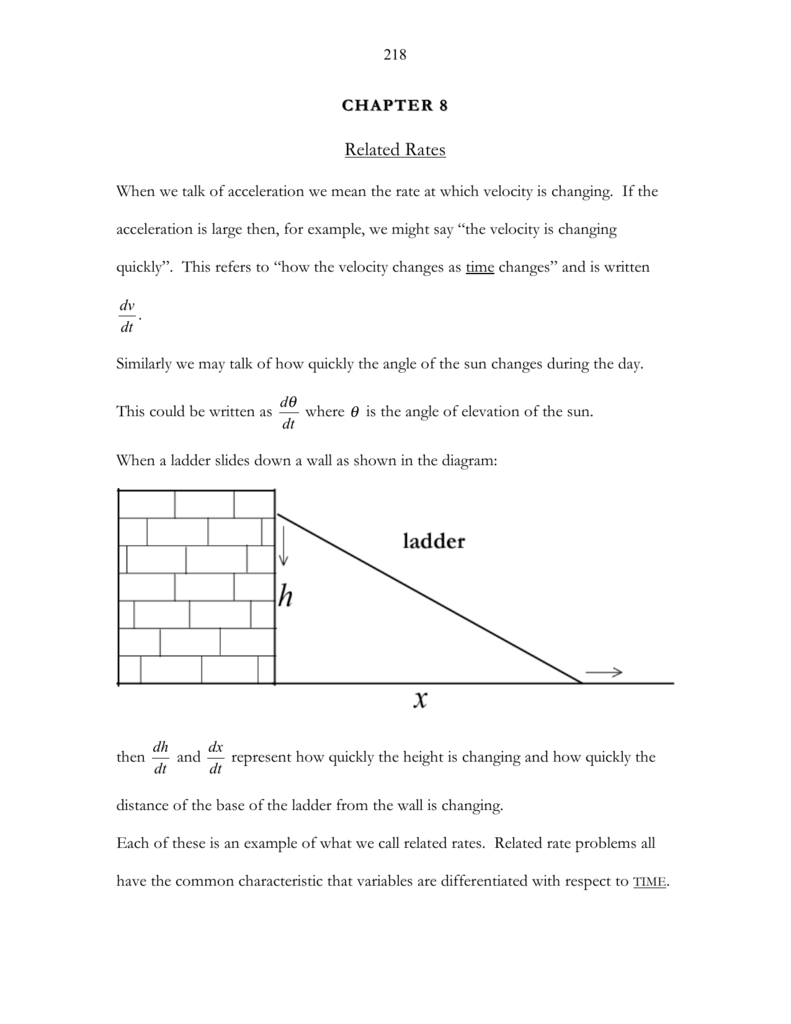 Worksheets Related Rates Worksheet related rates jackmathsolutions