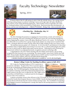 Faculty Technology Newsletter