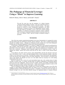 Article - Academy of Economics and Finance