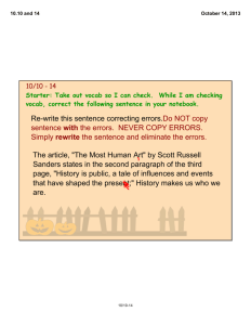 "The article, ""The Most Human Art"" by Scott Russell Sanders states in"