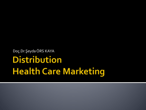Distribution Health Care Marketing