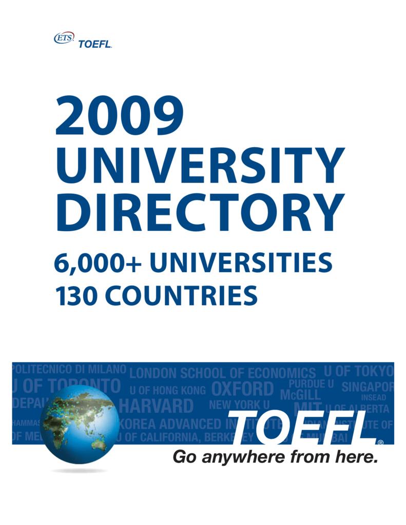 6000+ universities 130 countries