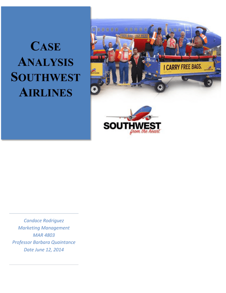 southwest case analysis
