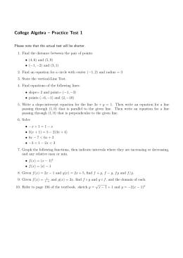 Geometry Construction Worksheet 10-1