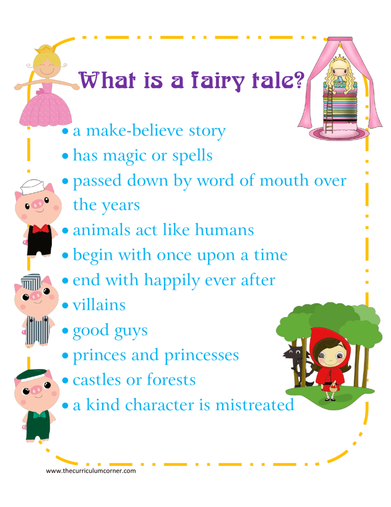 What is a fairy tale? - The Curriculum Corner