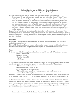 robber barons or captains of industry essay question directions robber baron essay
