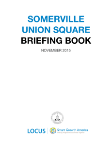 somerville union square briefing book