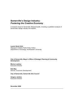 Somerville's Design Industry