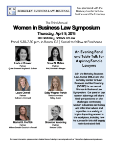 Women in Business Law Symposium