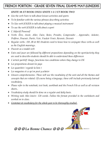 french exam por gr7 jun2015