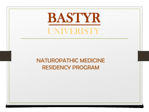 BASTYR UNIVERISTY
