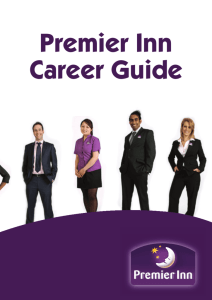 Premier Inn Career Guide - Business in the Community