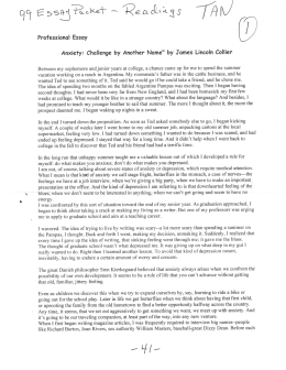 anxiety challenge by another name james lincoln I continue to receive lots of letters from readers here is a small collection of them which comment on my review of francis chan's letters to the church as well as a recent article on prophecy letters on francis chan's letters to the church you write that the pastors of the house churches are mostly.