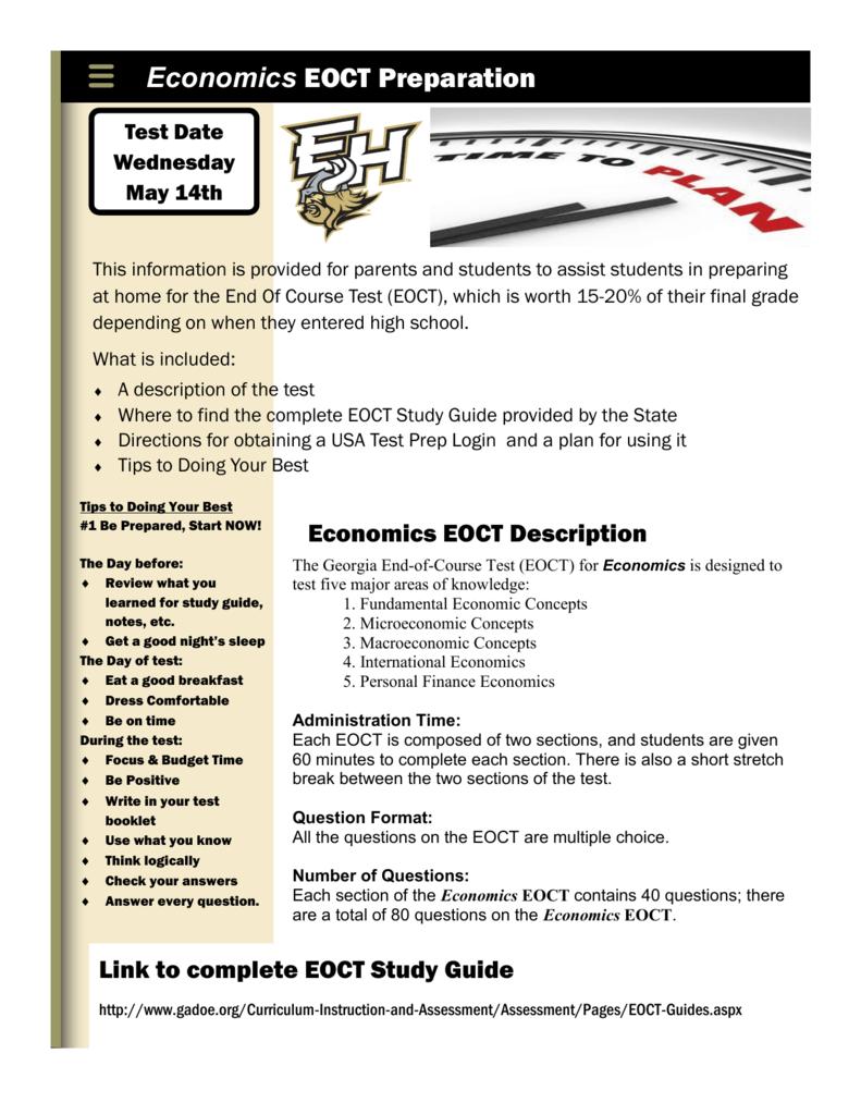economics eoct preparation rh studylib net