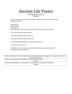 Ancient Life Poster
