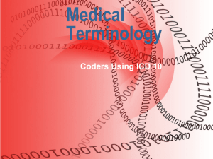 Medical Terminology - Peninsula Professional Coders