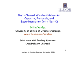 Multi-Channel Wireless Networks: Capacity, Protocols, and